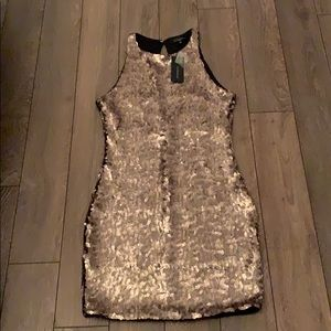 Mini sequin dress
